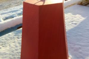 Столбик бетонный шестигранный в Тюмени
